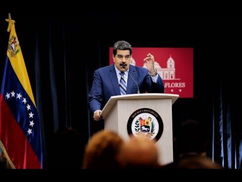 Nicolás Maduro, rueda de prensa completa con medios internacionales, 12 diciembre 2018