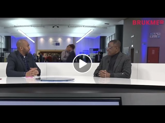Maurice Kamto au parlement européen - Interview exclusive