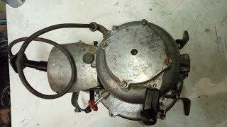 Редкий двигатель, сделано в СССР! СД-60 легкий обзор и ремонт!!