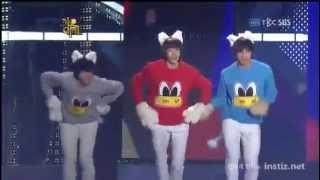 2PM- Cute Dance ( Dancing Bo Peep Bo Beep of T-ara)