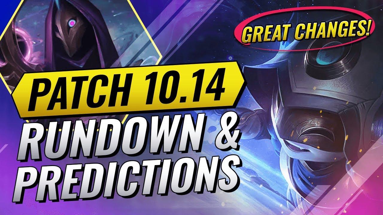 PATCH 10.14 RUNDOWN & PREDICTIONS - GOOD PATCH - Teamfight Tactics