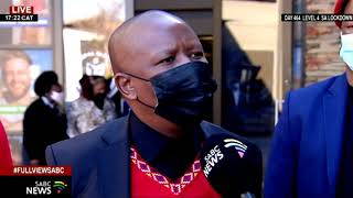 Jacob Zuma I EFF leader Julius Malema does not agree with the sentence