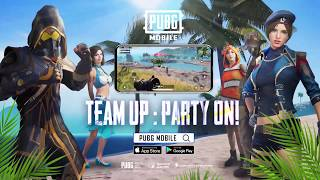 Season 8 TEAM UP: PARTY ON | PUBG MOBILE