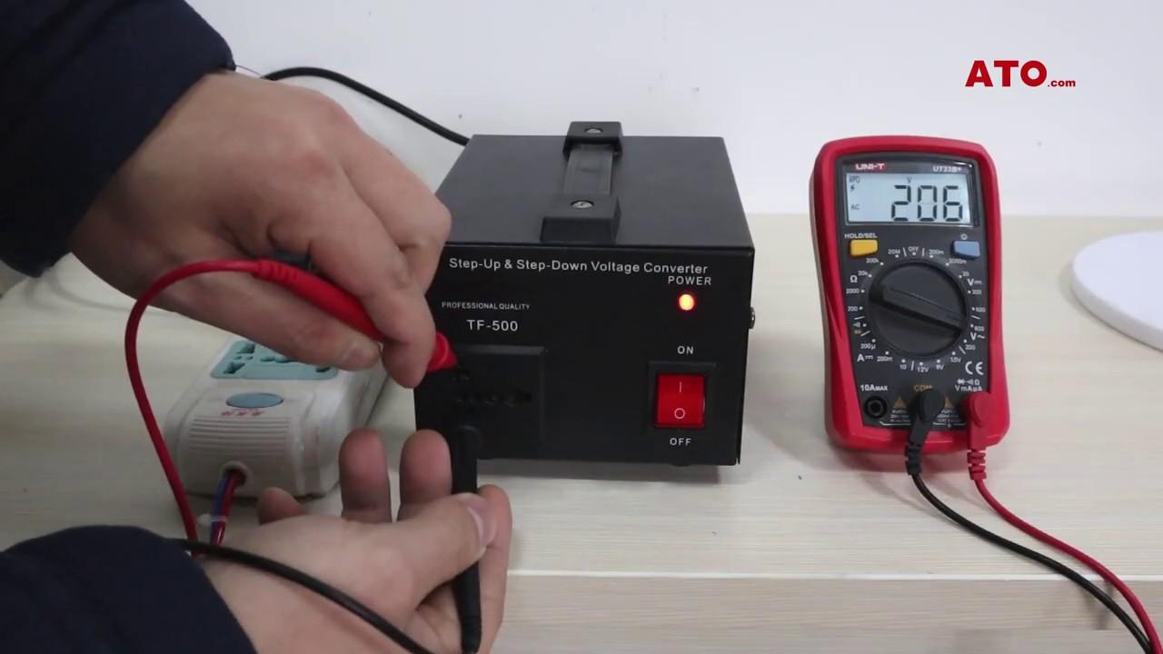 Voltage Converter 110v To 220v    220v To 110v