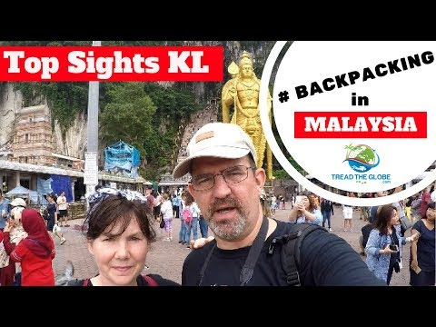 Exploring sights of Kuala Lumpur  Part 2 Malaysia / Borneo Trip 2017