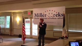 Rand Paul stumps for Marianette Miller-Meeks in Iowa City