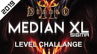Diablo 2 - Median XL Sigma - Level Challenge [2019]