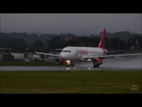 Algunos aterrizajes y despegues del Aeropuerto Juan Santamaría Int. 2016