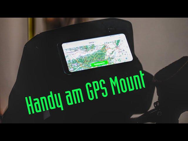 KTM Adventure GPS Mount Handyhalterung