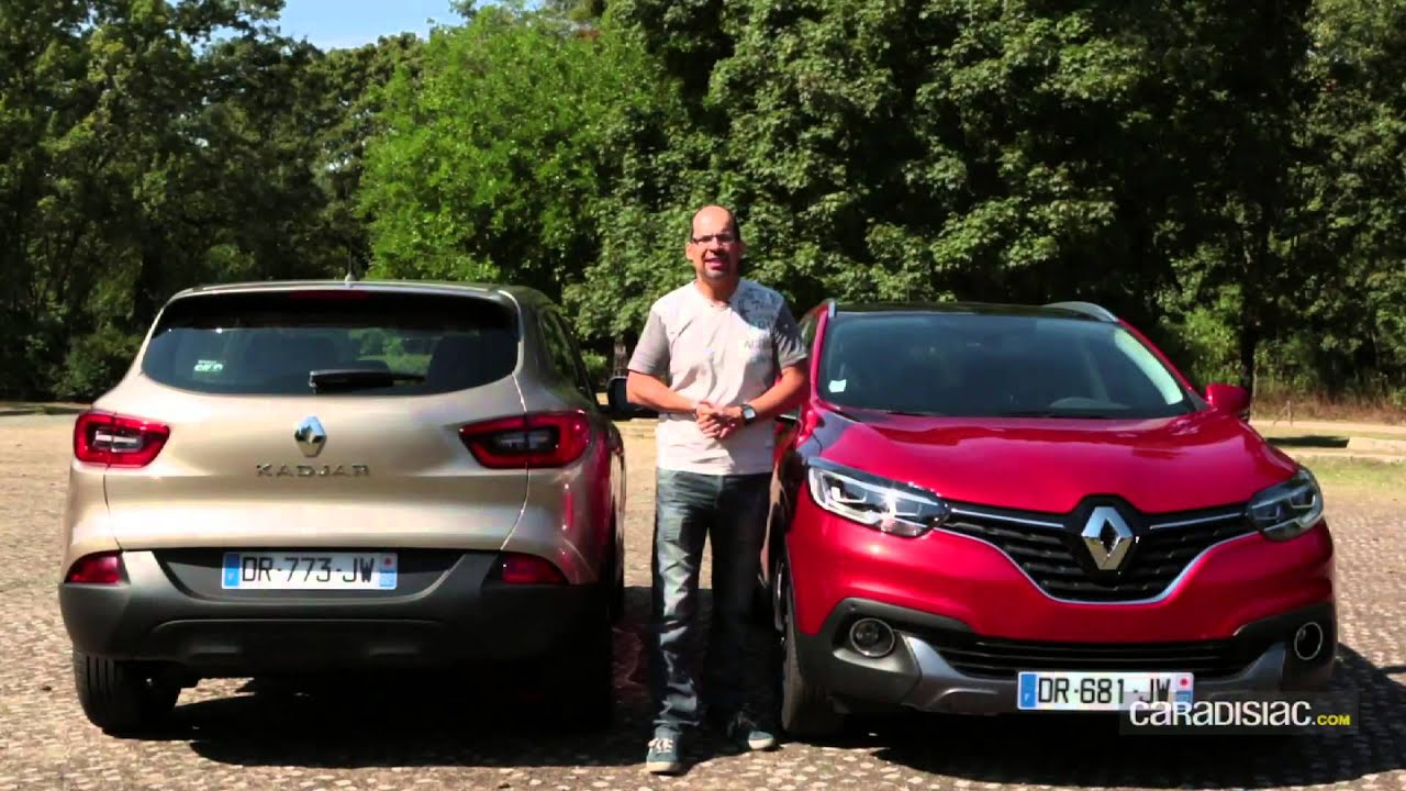 A l 39 int rieur du renault kadjar youtube for Interieur renault kadjar