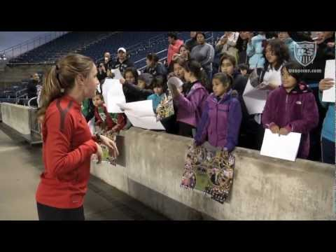 O'Reilly and the WNT Inspire Kids in Chicago