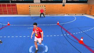 handball challenge trainings camp 1 on 1