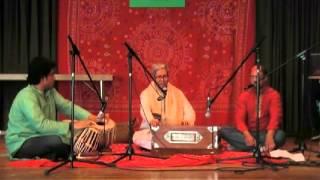 Ustad Rabiul Hossain improvising Classical with Bangla Folk music at Augsburg (1-May-13)