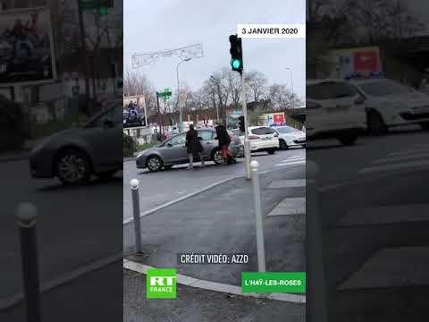 Attaque Au Couteau à Villejuif : Les Premières Images De La Neutralisation Du Suspect