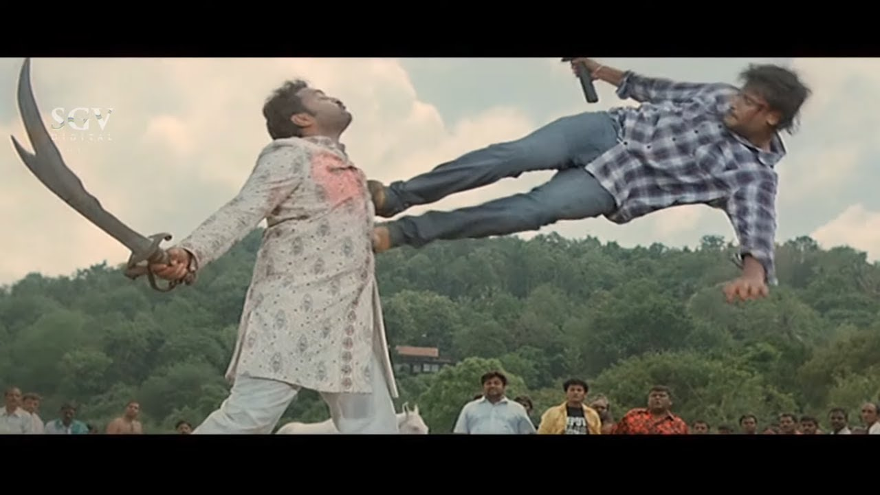 Download Darshan Proves, He Is Not Murderer of His Father | Saarathi Kannada Movie Super Ending Scenes
