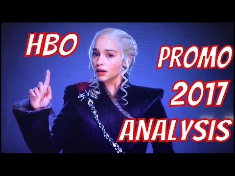 HBO Promo  Analysis - GAME OF THRONES, WESTWORLD