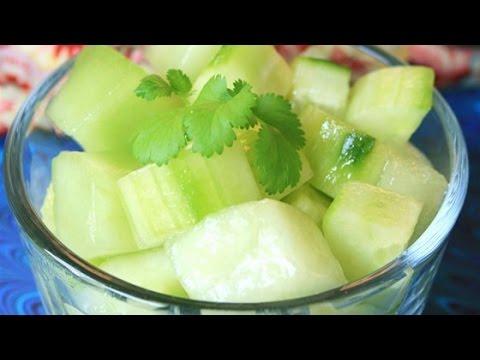 Easy Honeydew and Cucumber Salad Recipe