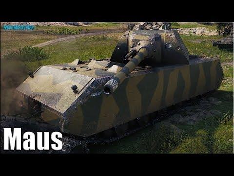 Маус танкует и дамажит ПО ВЗРОСЛОМУ ✅ World of Tanks лучший бой Maus