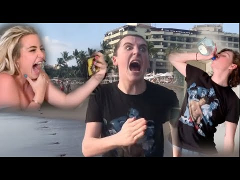 """me & my friends being """"sober"""" in mexico for 10 minutes straight"""