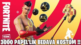 FREE COSTUME TOURNAMENT IS COMING !! FULLY 3000 PAPEL VALUE !! (Fortnite Turkish)