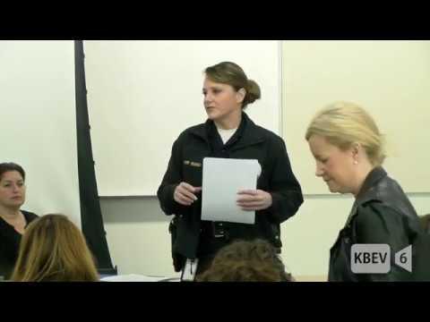 Beverly Hills PTSA Meeting on School Safety (2-22-18)