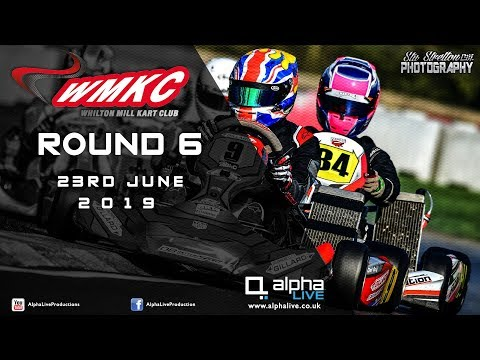 Whilton Mill Kart Club Round 6 LIVE From Whilton Mill