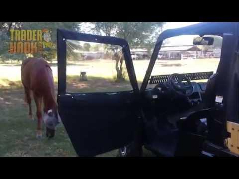 Kawasaki Teryx Full Half Doors & Kawasaki Teryx Full Half Doors - YouTube