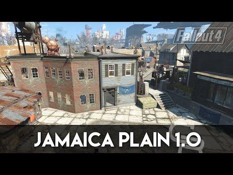Fallout 4 - Jamaica Plain 1.0 (Fallout 4 Settlement Tour)