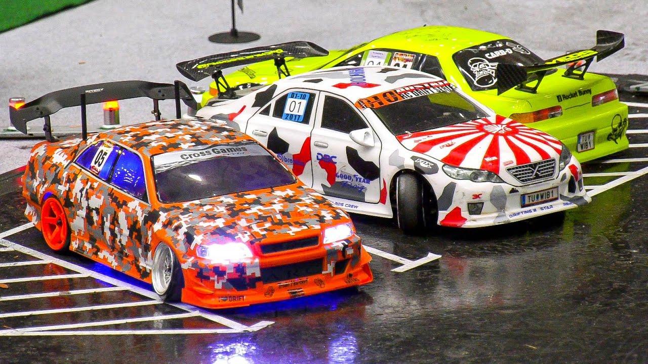 RC DRIFT CAR ACTION!! RC MODEL DRIFT CARS, RC POLICE CAR, RC MODEL FAIR VIENNA / AUSTRIA