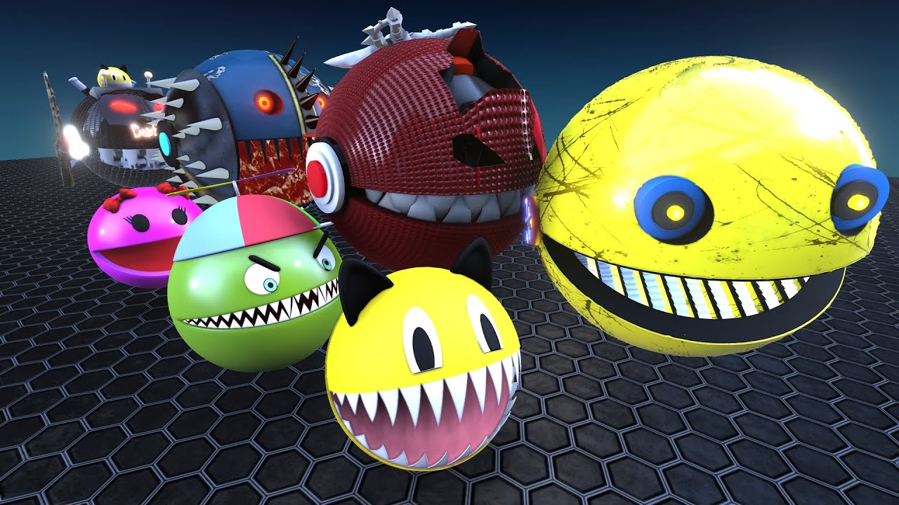 Download Pacman Adventures Compilation #28 VsSpike  Robot Pacman