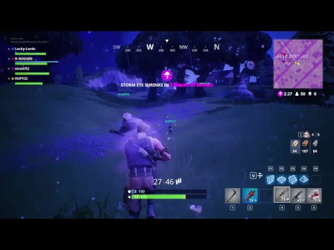 Playing Fortnite With My Friend (i suck)  (Road to 300 subs) INTERACTIVE STREAMER!!!