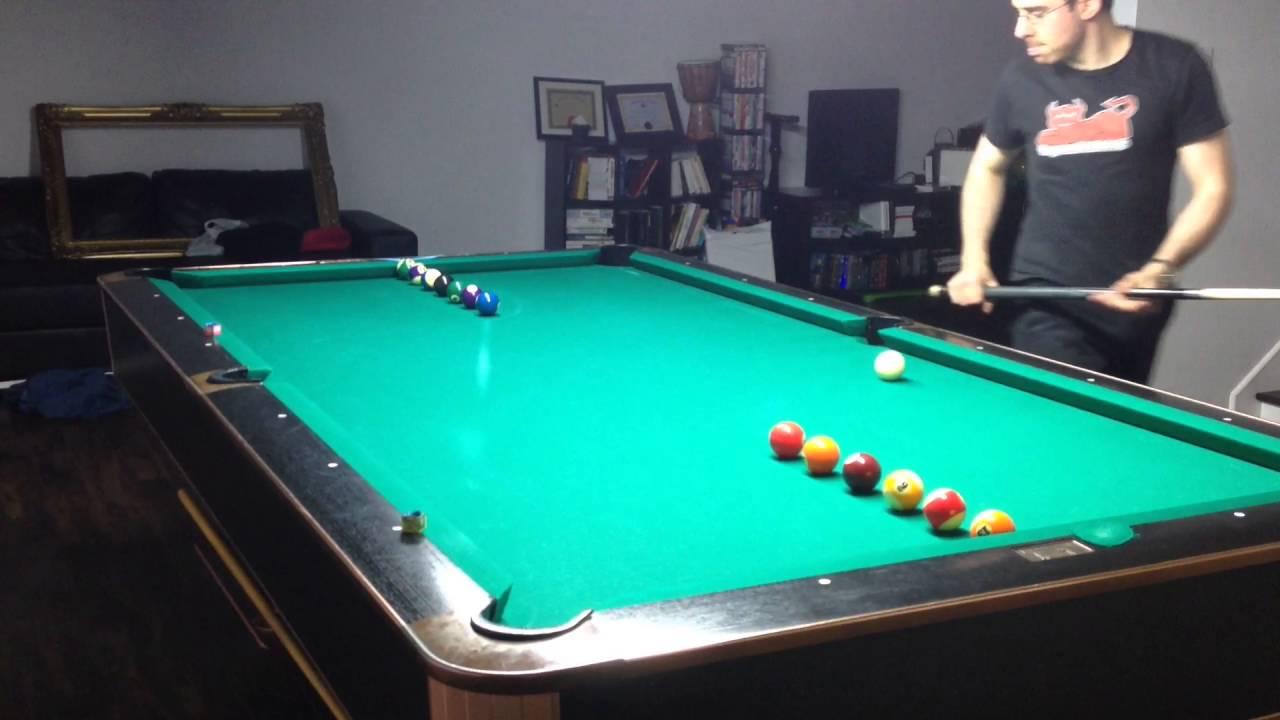 Tough billiard drill,