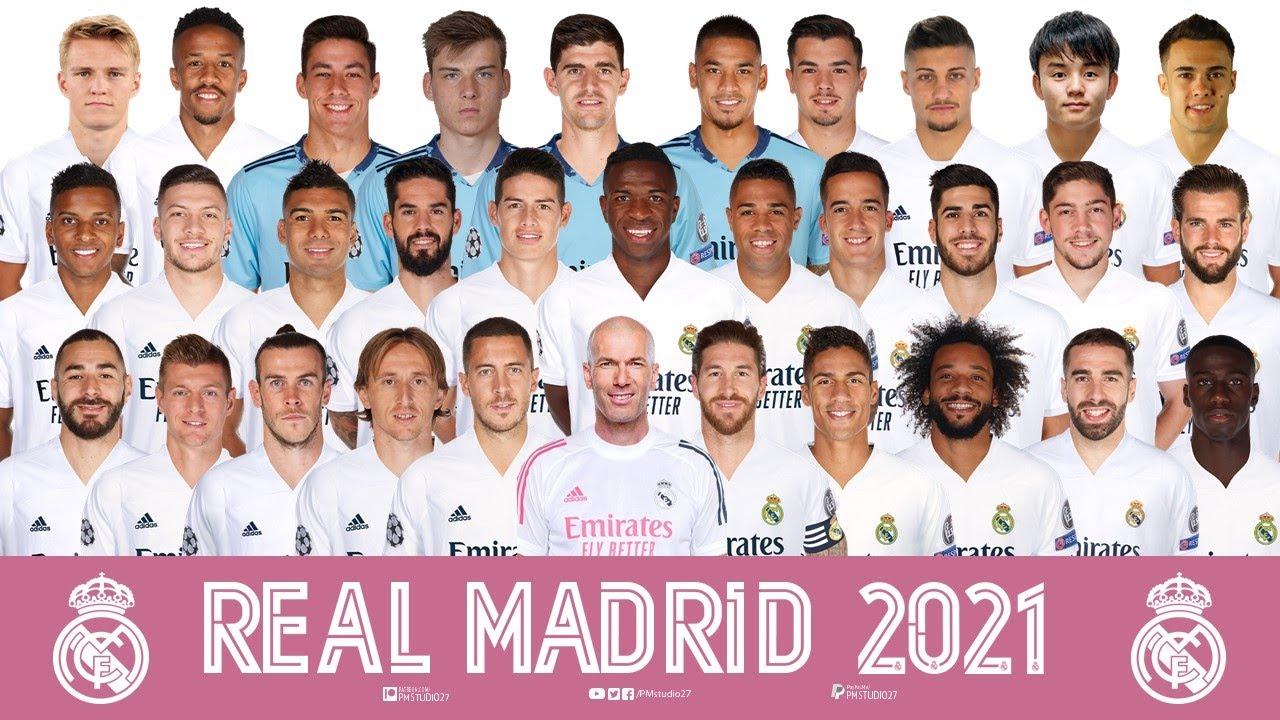 Real Madrid Squad Pre-season 2020/2021 | Hazard, Benzema, Modric, Ramos,  Kroos, Marcelo, ... - YouTube