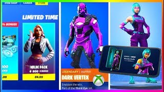 NEW STARTER PACK | XBOX SKIN and HONOR PACK-INFO | Fortnite