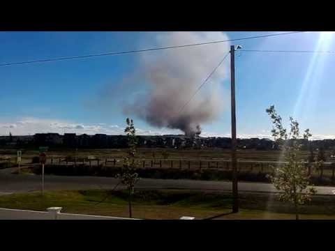 Fire in Airdrie