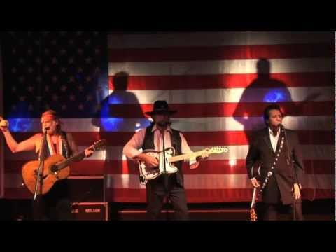 THE HIGHWAYMEN - Country Music Tribute to Willie, Waylon and Johnny