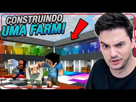 CONSTRUÍMOS UMA FARM DE LÃ ESPETACULAR NO MINECRAFT #2-18