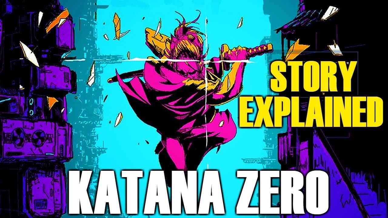 Katana Zero: STORY EXPLAINED
