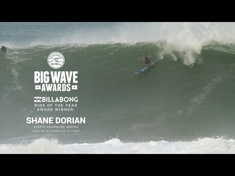 Shane Dorian's Billabong Ride of the Year Winner - WSL Big Wave Awards 2015