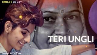 Maa (Laadla) Lyrical Song    Cover by : Ricky Abhishek Chowdhary    Teri Ungli Pakad ke Chala