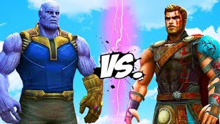 THANOS VS THOR - INFINITY BATTLE