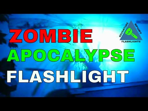 Zombie Apocalypse Flashlight - Four Color...