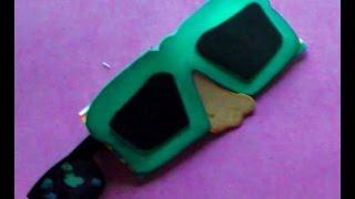 Cómo realizar una divertida funda para tus gafas