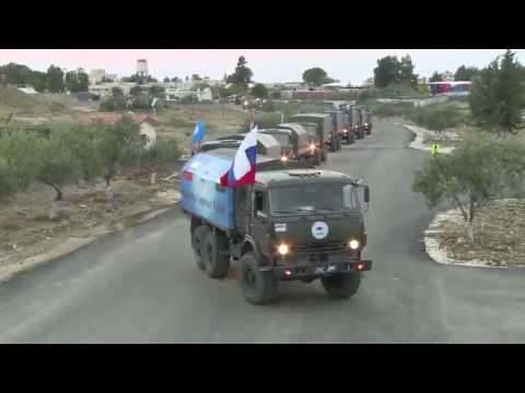 Russia delivering aid in Syria whilst the UN and western countries go missing