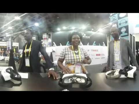 The winner circle of Digital Lab Africa 2016 (360°)