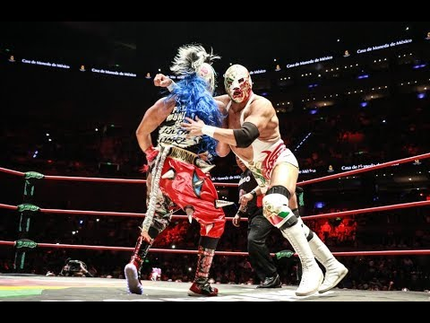 Dr Wagner Jr vs Psycho Clown Mascara vs Mascara Triplemania 25 Lucha Completa