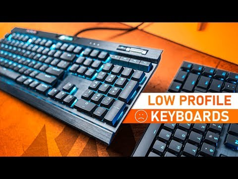 The Perfect Low Profile Gaming Keyboard DOESN'T Exist!