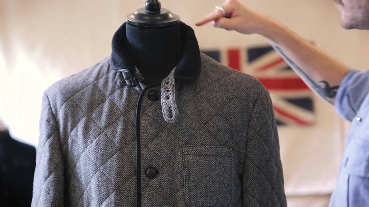 Farrell Tweed Quilted Barn Jacket Autumn Winter 13 Youtube