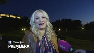 Premijera - 10.10./Goca Tržan oplela po novinarima