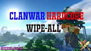 [High-Sky] MineCraft ClanWar Battles - Клановые Войны в MineCraft - PvP - Начало Вайпа.